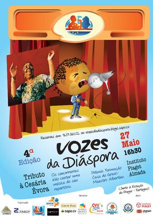 Vozes da diáspora 2012