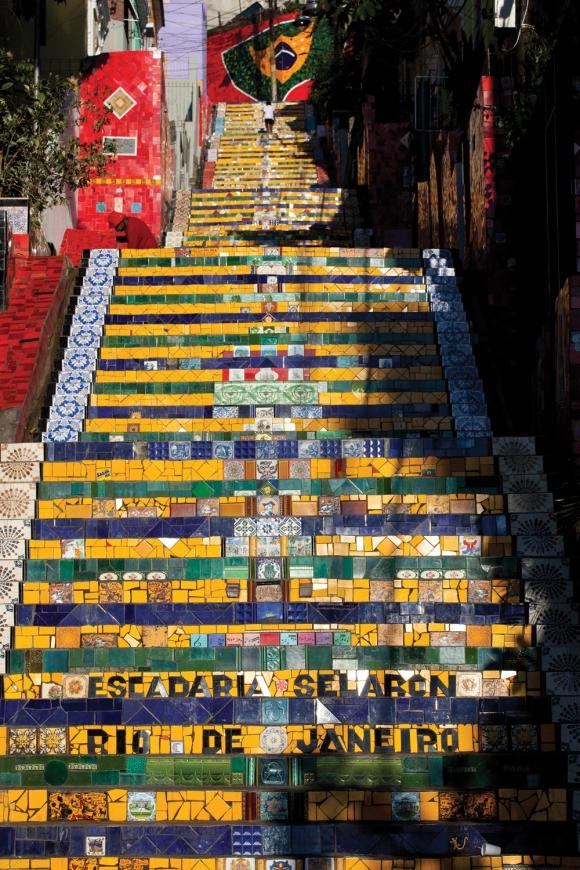 Escadaria SelaronLapa-RJ
