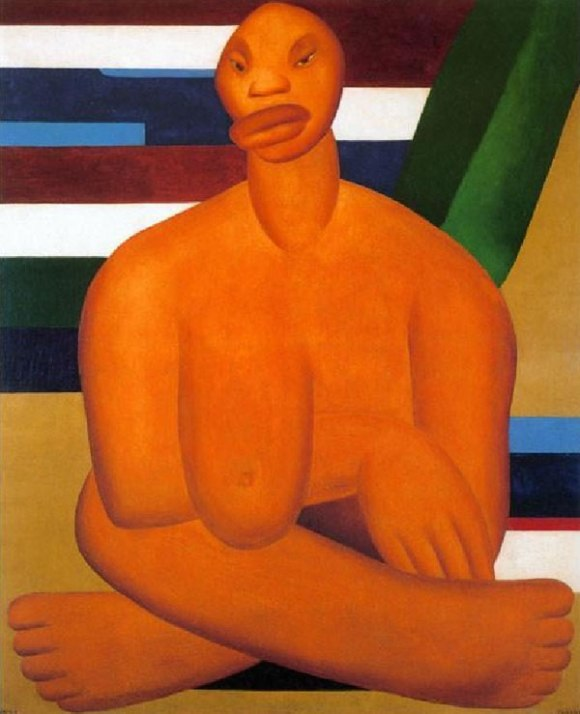 A Negra- Tarsila do Amaral