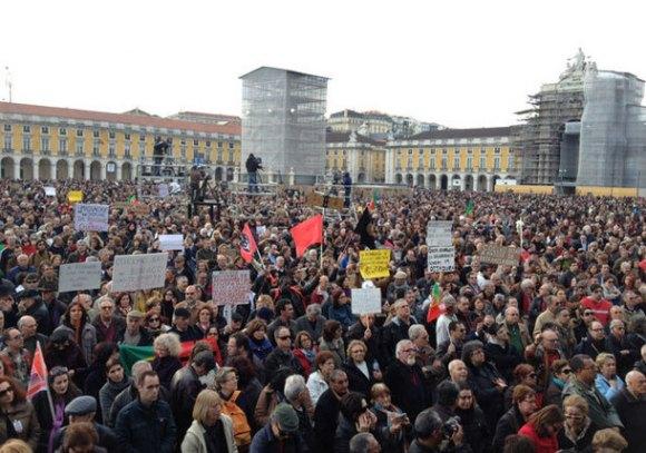 protestos-em-portugal-2-de-marco-de-2013-ap