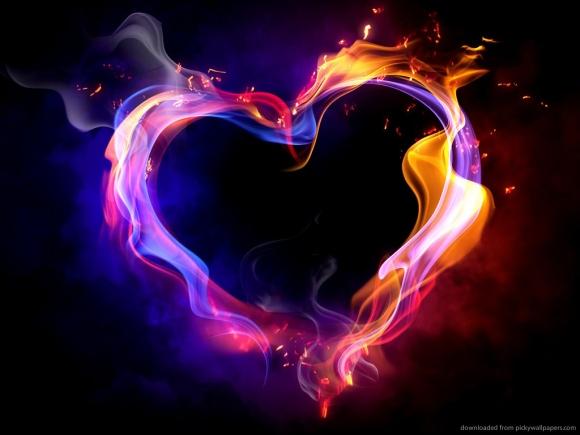 Coração em fogo