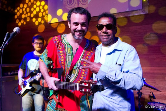 Tiago S† com Jorge Ben Jor