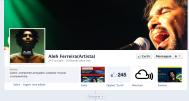 Um músico brasileiro com muito groove! Clique aqui para acessar a página: https://www.facebook.com/pages/Aleh-FerreiraArtista/291224337572986?fref=ts