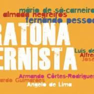 """Companhia 33 Ânimos, Junho 2013. Leitura do """"Banqueiro Anarquista"""" de Fernando Pessoa por Daniela Rosado e Ricardo Cabaça na Maratona Modernista do Teatro Nacional D. Maria II."""