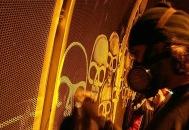Limpando os tuneis para obter desenhos! ( Grafite invertido)