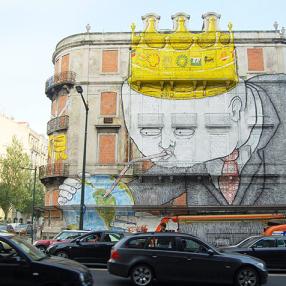 Os Gêmeos, Lisboa