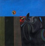 COMPOSIÇÃO IRISADA, 1946, óleo sobre tela. 74,5 x 74,5 cm.