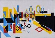 LE GRAND CANAL, 1956, Óleo sobre tela. 85,5 x 122,5cm