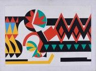 OSÍRIS, 1956, Óleo sobre tela. 64,3 x 87cm