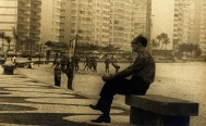 Drummond em Copacabana 1972