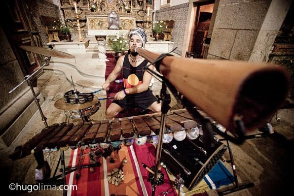 Como podem ver o set de instrumentos contem diversos instrumentos percussivos!